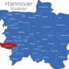 Map Hannover Stadtteile Badenstedt