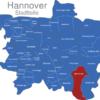 Map Hannover Stadtteile Bemerode