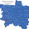 Map Hannover Stadtteile Bornum