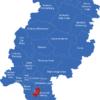 Map Hessen Landkreise Darmstadt