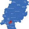 Map Hessen Landkreise Frankfurt