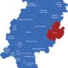 Map Hessen Landkreise Fulda