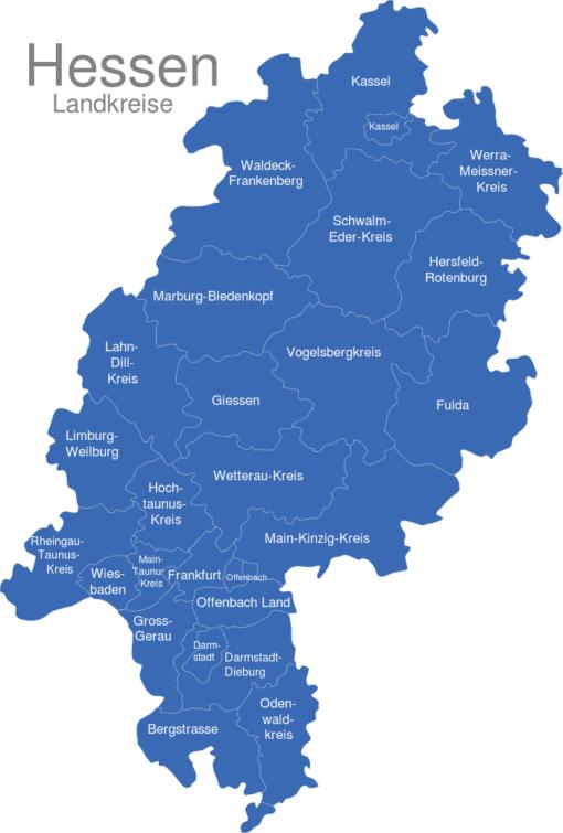 Hessen Landkreise