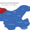 Map Hochsauerlandkreis Arnsberg
