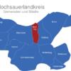 Map Hochsauerlandkreis Bestwig