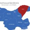 Map Hochsauerlandkreis Brilon