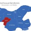 Map Hochsauerlandkreis Eslohe