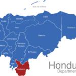 Map Honduras Departments Choluteca
