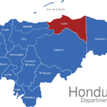 Map Honduras Departments Colon_1_
