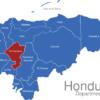 Map Honduras Departments Comayagua
