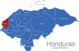 Map Honduras Departments Copan_1_