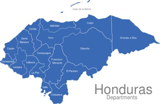Honduras Departments