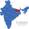 Map Indien Bundesstaaten Bihar