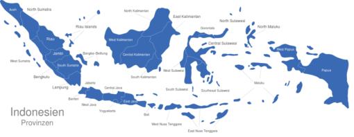Indonesien Provinzen