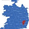 Map Irland Grafschaften Carlow
