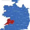 Map Irland Grafschaften Clare