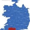 Map Irland Grafschaften Cork