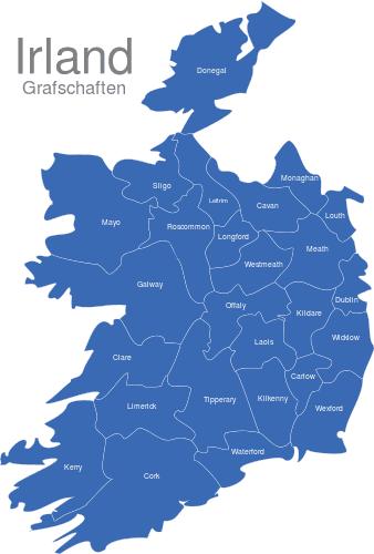Irland Grafschaften