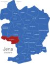 Map Jena Stadtteile Ammerbach