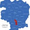 Map Jena Stadtteile Burgau