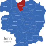 Map Jena Stadtteile Closewitz