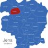 Map Jena Stadtteile Cospeda