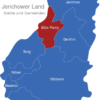 Map Jerichower Land Elbe-Parey