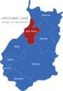 Map Jerichower Land Elbe-Parey