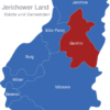 Map Jerichower Land Genthin