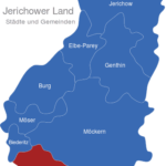 Map Jerichower Land Gommern
