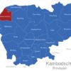 Map Kambodscha Provinzen Banteay_Meanchey