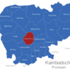 Map Kambodscha Provinzen Kampong_Chhnang