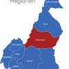 Map Kamerun Regionen Adamawa