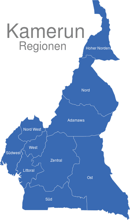 Kamerun Regionen