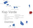 Map Kap Verde Distrikte Boa_Vista