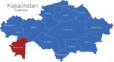 Map Kasachstan Gebiete Mangghystau