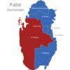 Map Katar Gemeinden Ar_Rayyan