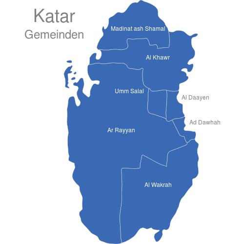 Katar Gemeinden