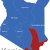 Map Kenia Provinzen Kustenprovinz
