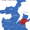Map Kiel Bezirke Ellerbek_Wellingdorf