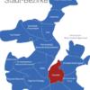 Map Kiel Bezirke Gaarden