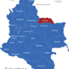 Map Kolumbien Departement Arauca