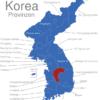 Map Korea Provinzen Chungcheongbuk-do