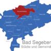 Map Kreis Bad Segeberg Boostedt-Rickling