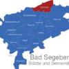 Map Kreis Bad Segeberg Bornhöved
