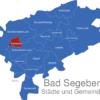 Map Kreis Bad Segeberg Bramstedt