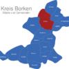 Map Kreis Borken Ahaus