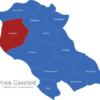 Map Kreis Coesfeld Coesfeld