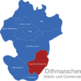 Map Kreis Dithmarschen Burg-Sankt_Michaelisdonn