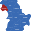 Map Kreis Düren Aldenhoven